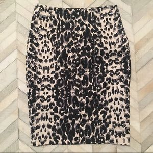 Mossimo Supply Co. Skirts - Animal Print Pencil Skirt - 6 - Leopard